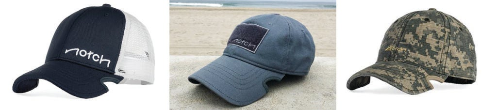 Notch hats comes in various styles and colors.