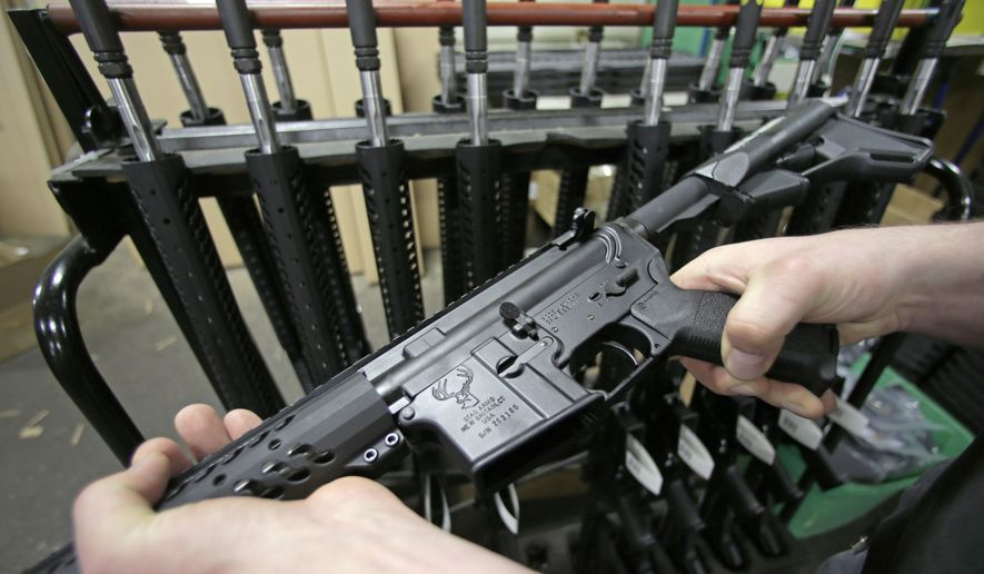 Two New Mexico Schools to Install Safes with AR-15s