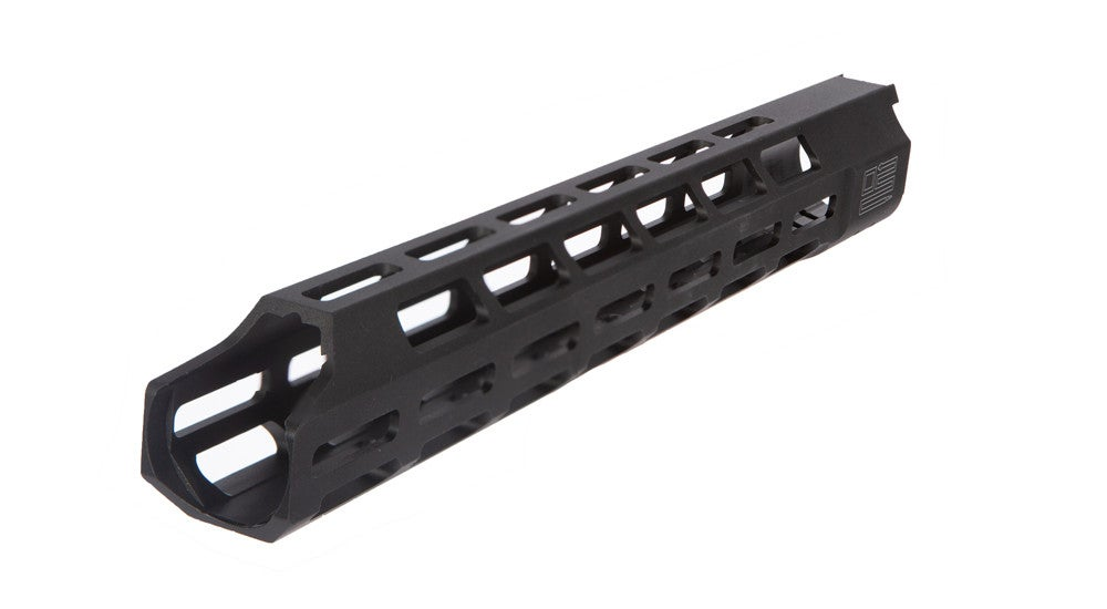 The new rifle includes either a 15- or 13-inch M-LOK handguard.