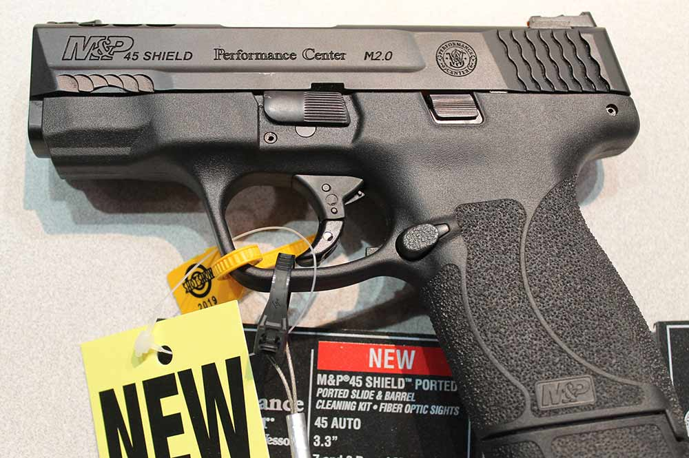 smith and wesson new performance shield grip