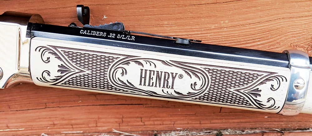 Hands On with the New Henry American Eagle Rifle