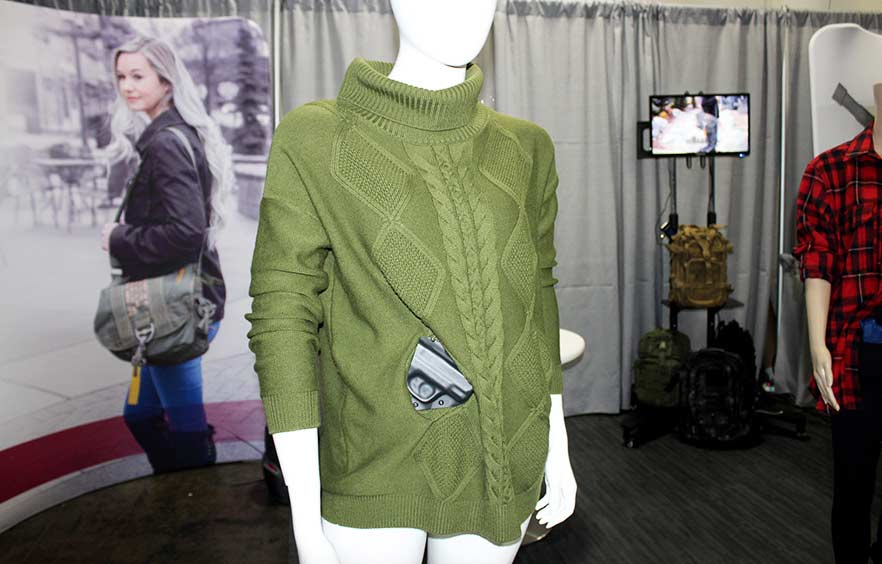 tactica defense clothing green sweater