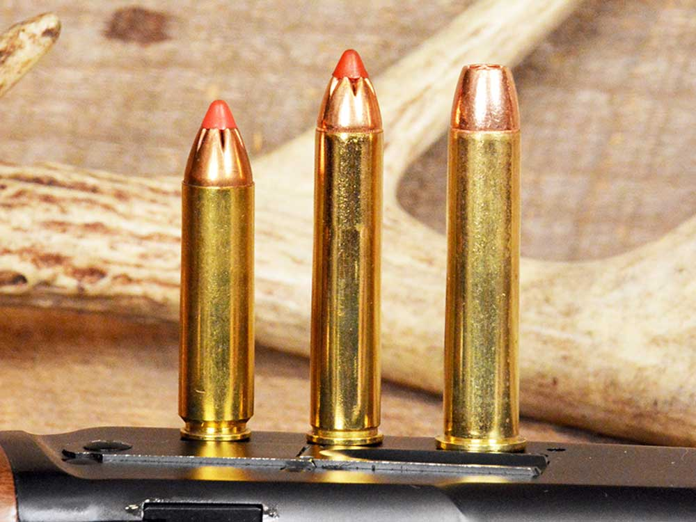 straight walled hunting cartridges