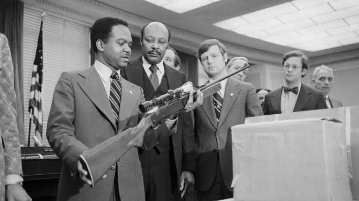 lawmakers examining rifle used to assassinate martin luther king jr.
