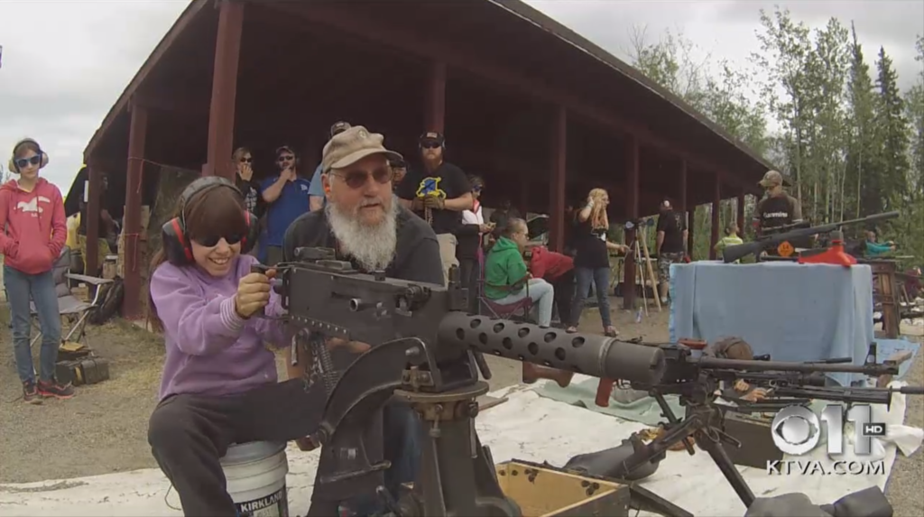 Alaska's Memorial Day Machine Gun Shoot
