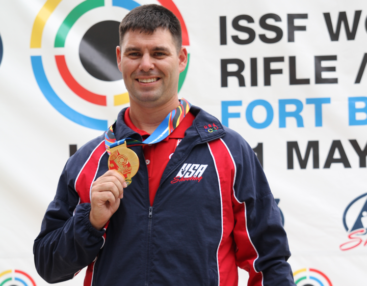 USA Shooter Wins Gold, Olympic Quota at World Cup USA