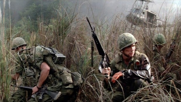 Many Vietnam Veterans point to *Hamburger Hill* as the movie that most accurately captured their wartime experience.