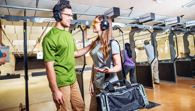 A Date at the Range