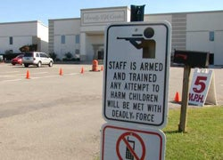 School Staff Can Now Be Armed in Oklahoma