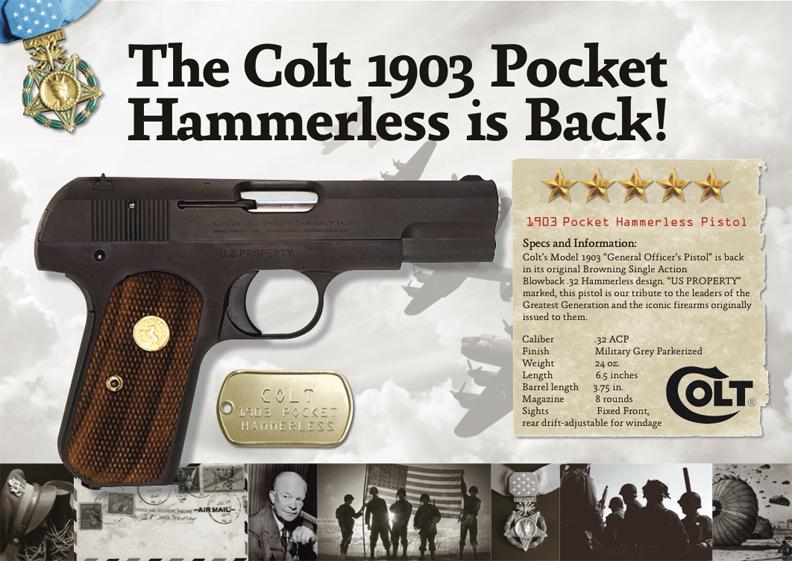 Model 1903: Company Makes an Old Colt Young Again