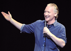 "Bill Maher Owns Guns For Protection, But Others Have a ""Sickness"""