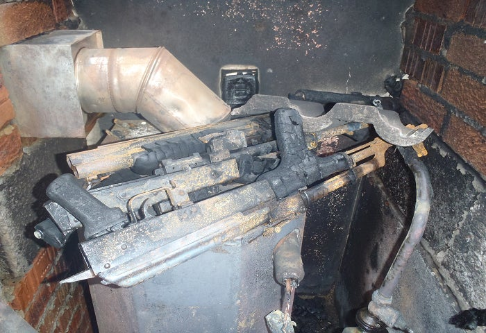 AKs, Sawed Offs, Pipe Bombs Found in Belfast After Fire