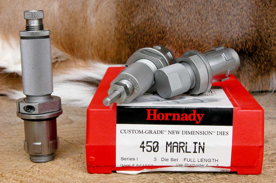 hornady 450 marlin cartridge dies