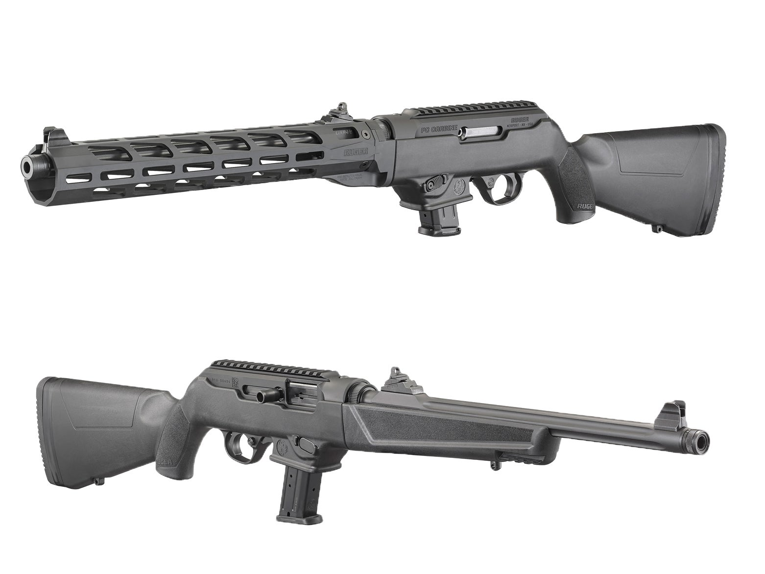 Ruger Releases M-LOK PC Carbine in 9mm + 40 S&W Models