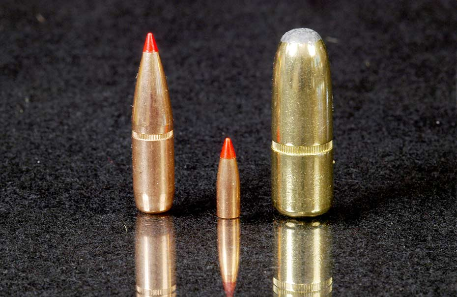 different ammo bullets