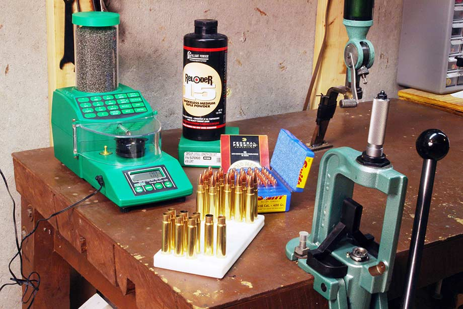 Reloading Supplies: The Tools You Need to Handload Centerfire Cartridges