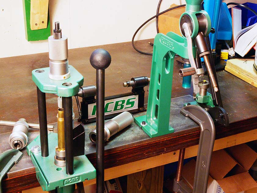 tools used for reloading ammo
