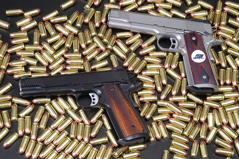 springfield armory tactical response pistols and ammo