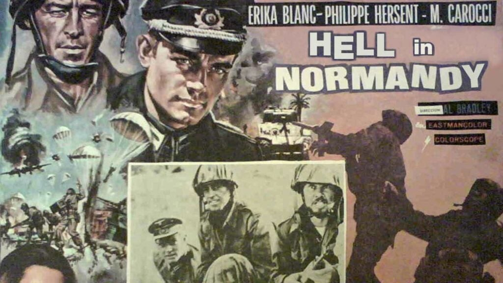 hell in normandy movie poster