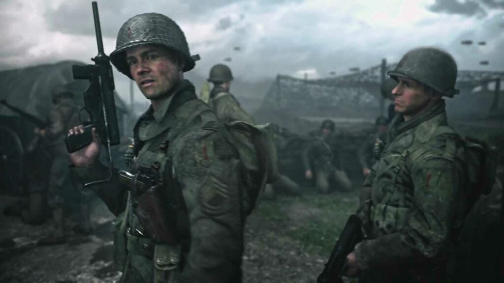 image still of the video game call of duty world war ii