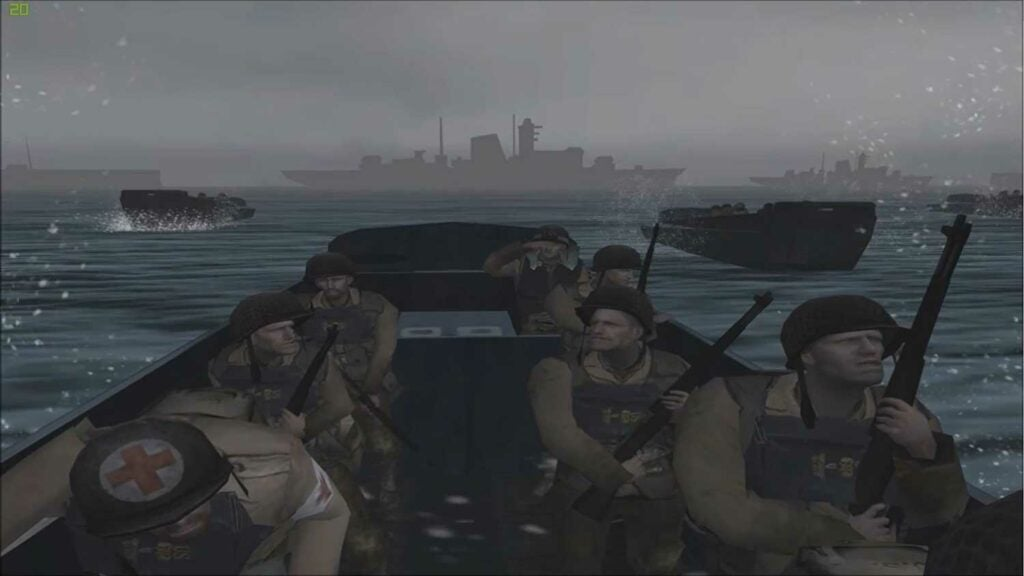 image still of the video game medal of honor frontline