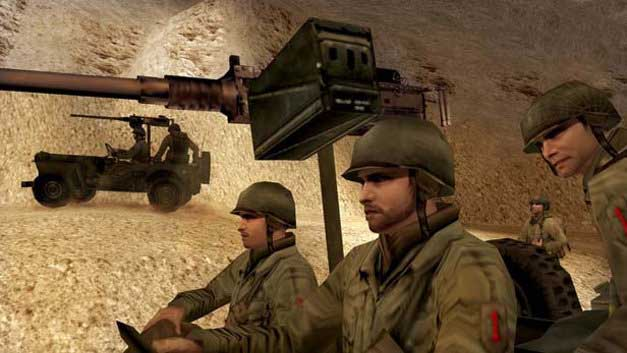 image still of the video game call of duty big red one