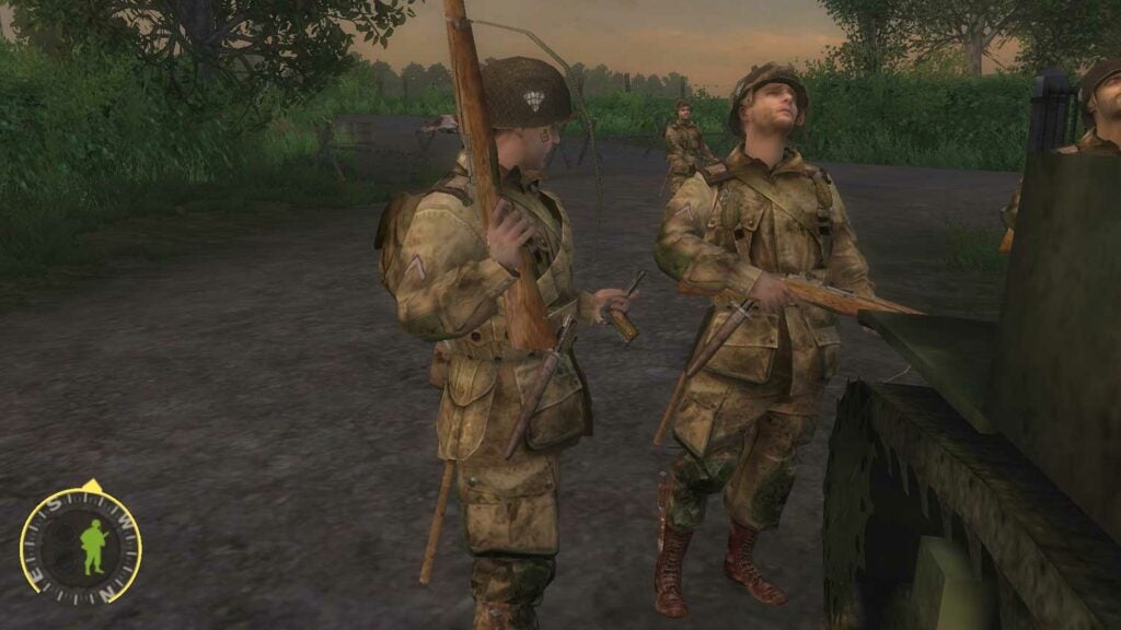 image still of the video game brothers in arms
