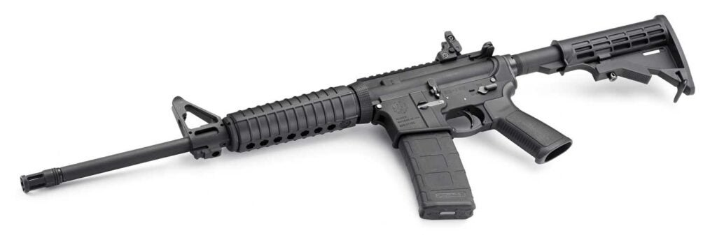ruger ar 556 rifle
