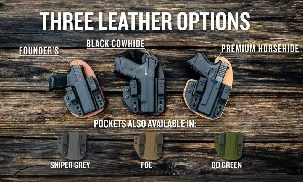 leather options for holsters
