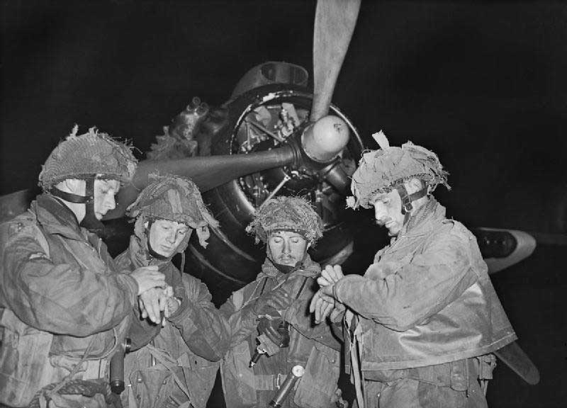 four stick commanders british paratroopers