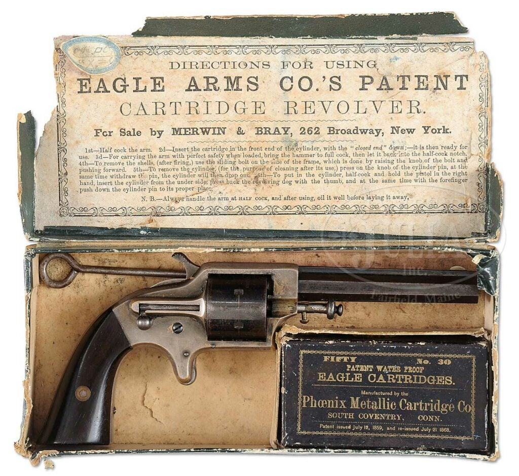 eagle arms co cartridge revolver patent