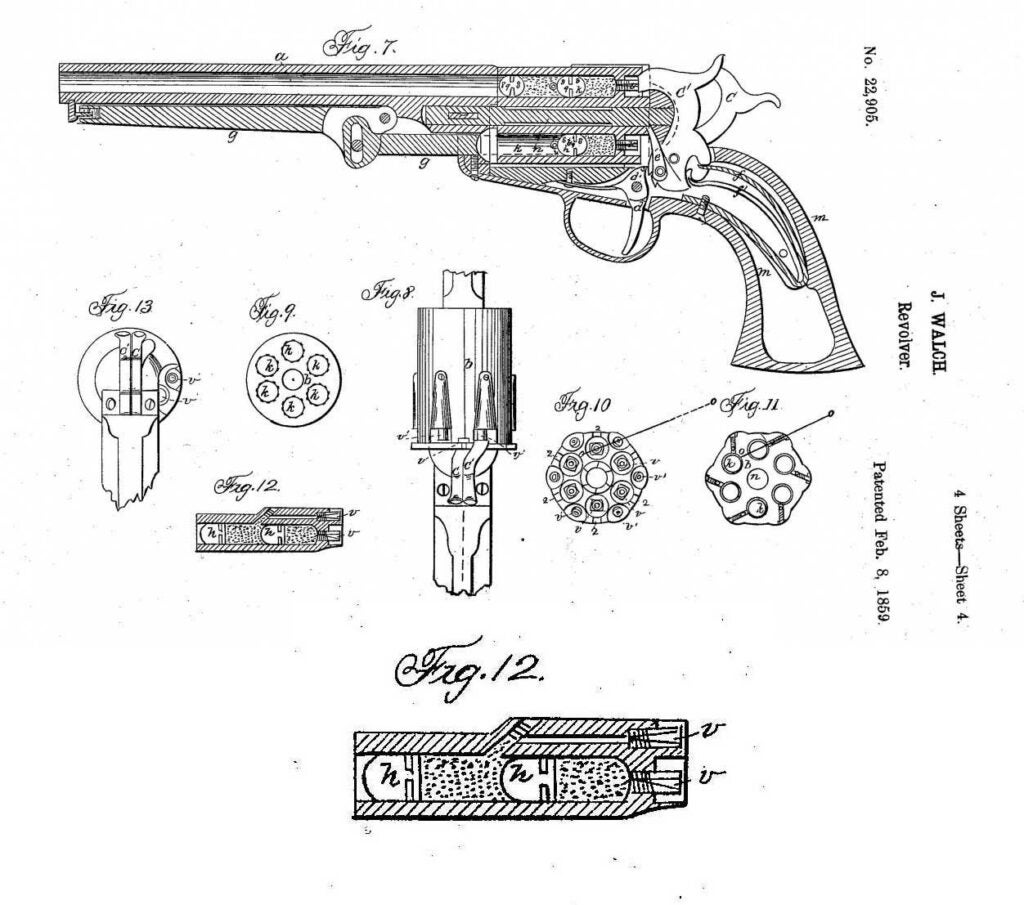 walch revolver and load patent