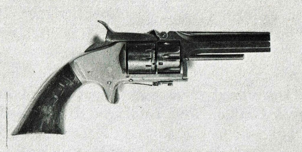 black and white image orr revolver