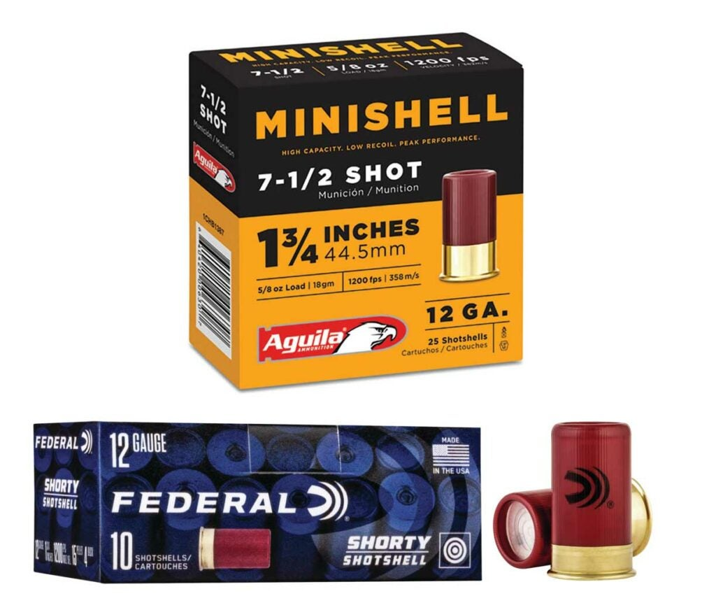 federal and minishell ammunition
