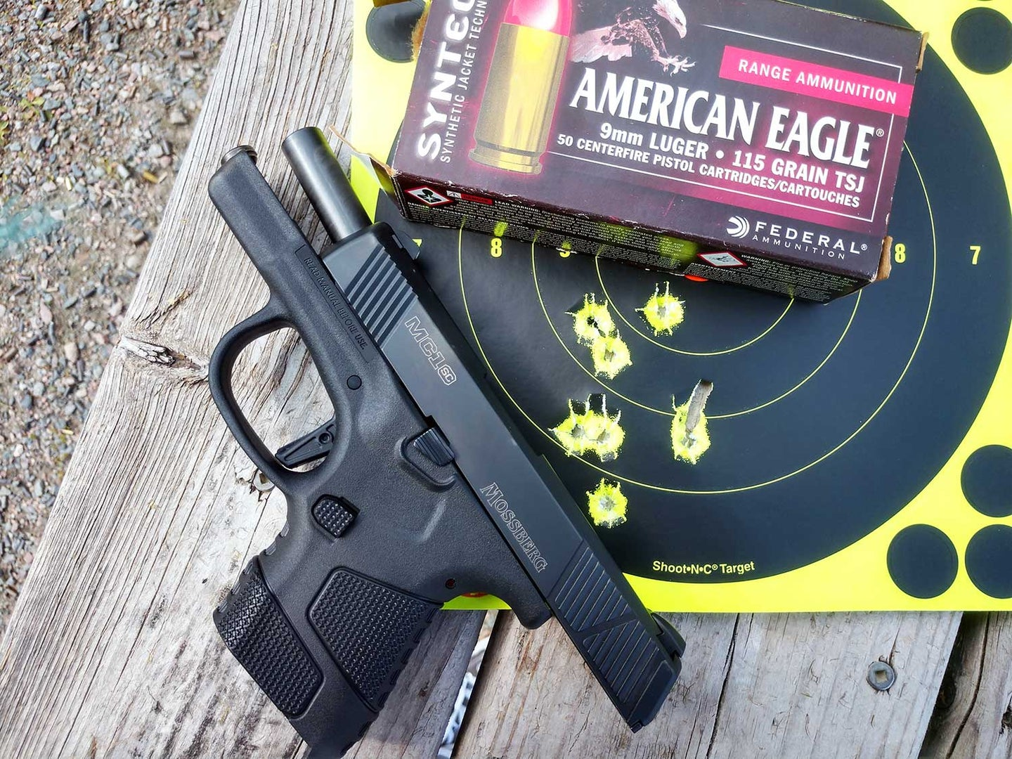 Mossberg MC1SC Review and Range Test