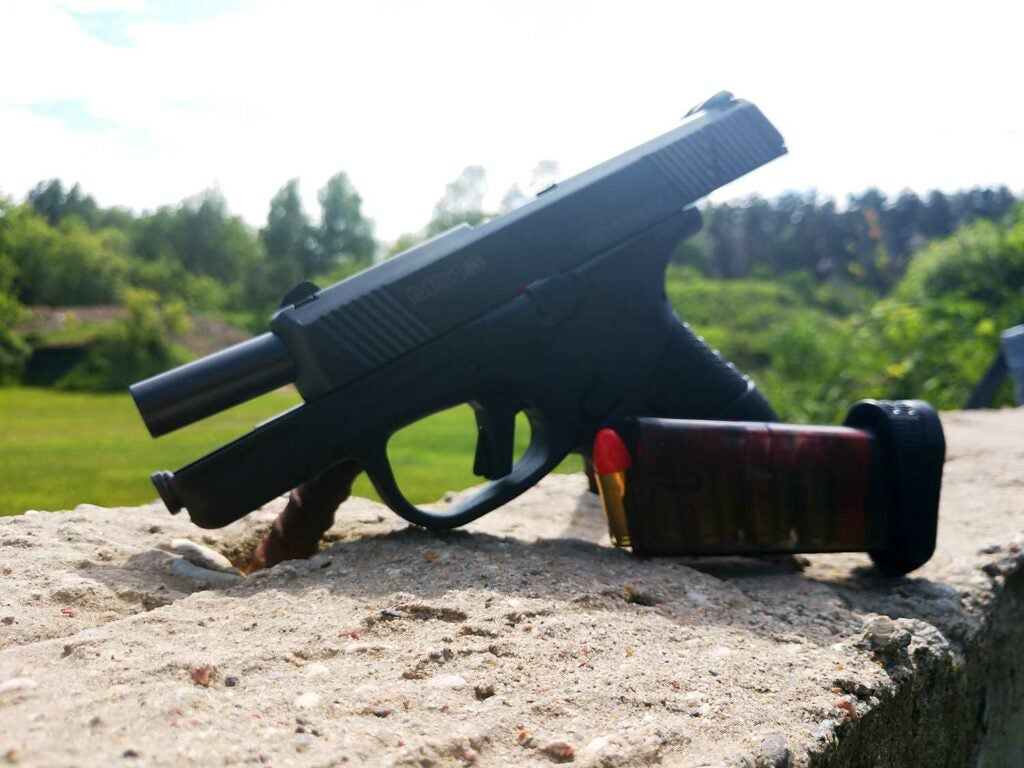 Mossberg MC1SC clear count polymer magazines
