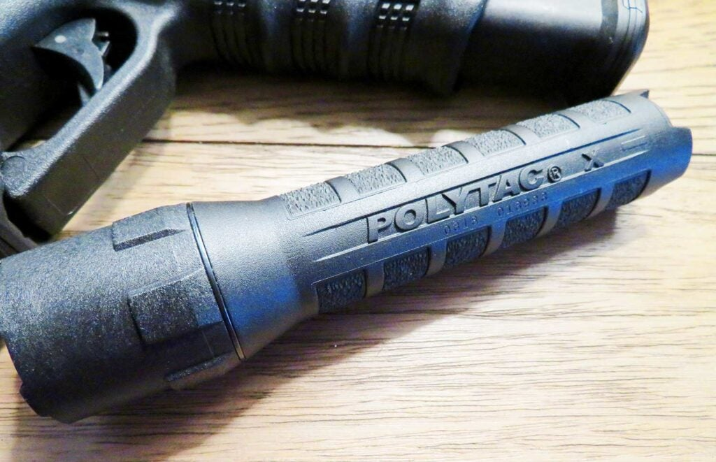 a small polytac handheld streamlight