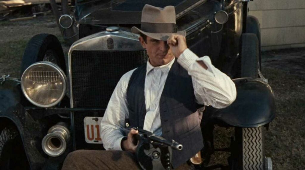 bonnie and clyde tommy gun