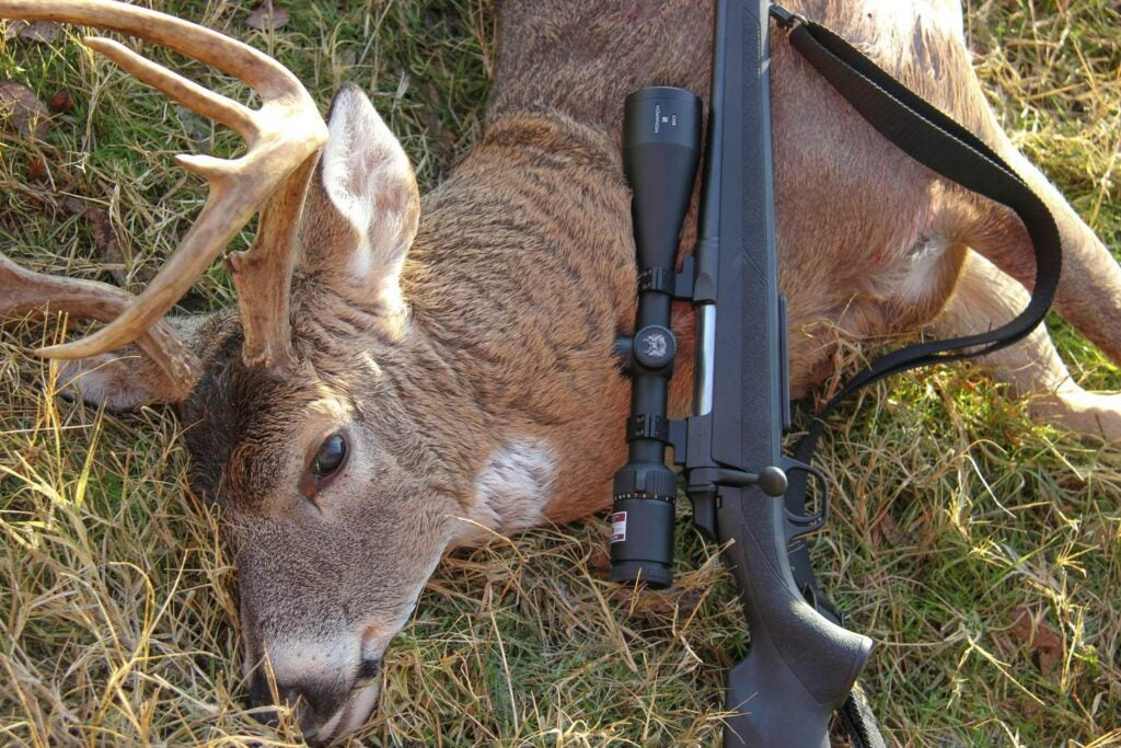 Browning AB3 Field model and a whitetail