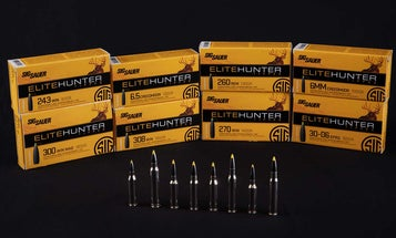 SIG Sauer Releases Elite Hunter Tipped Ammo