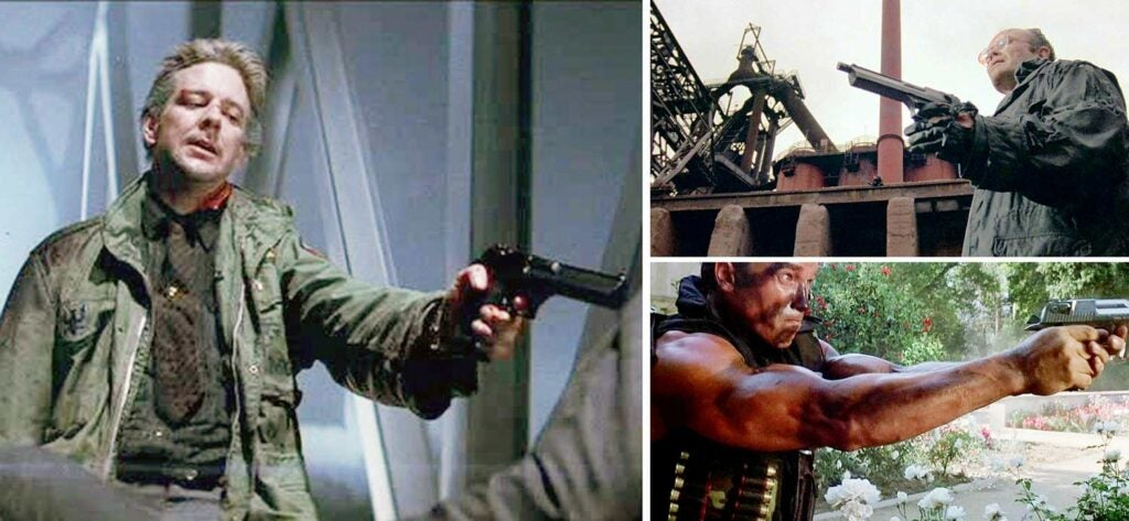 guns in movies and pop culture