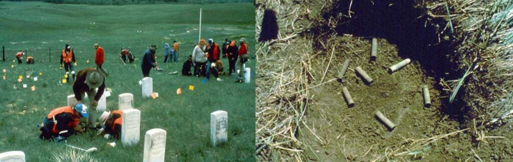 little bighorn site mapping and artifact recovery