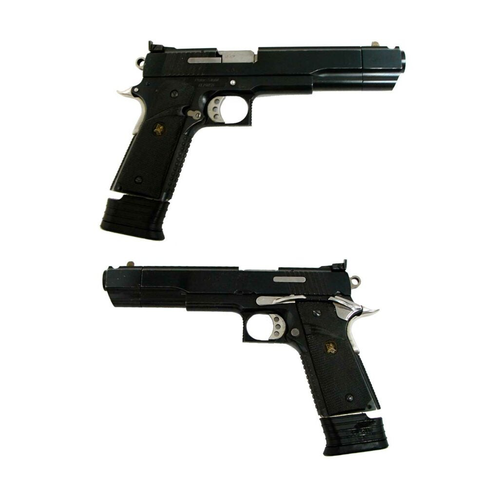Peters Stahl Sport Multical .45 ACP pistols