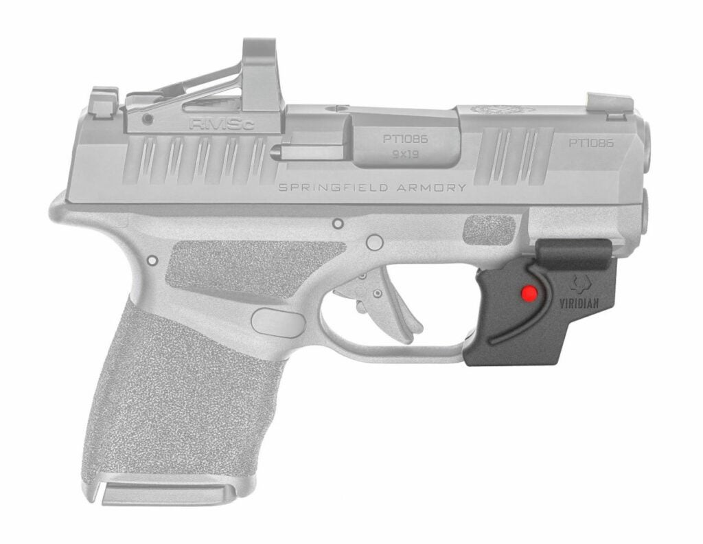 viridian laser sight on springfield hellcat