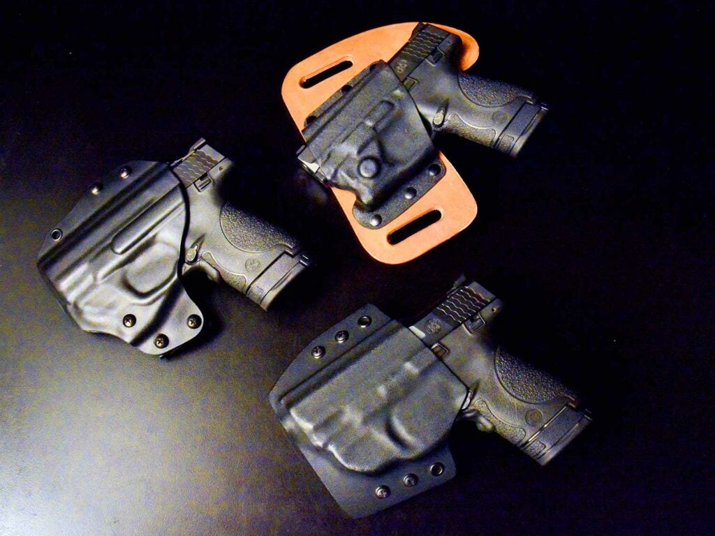 Smith & Wesson Shield with lasers