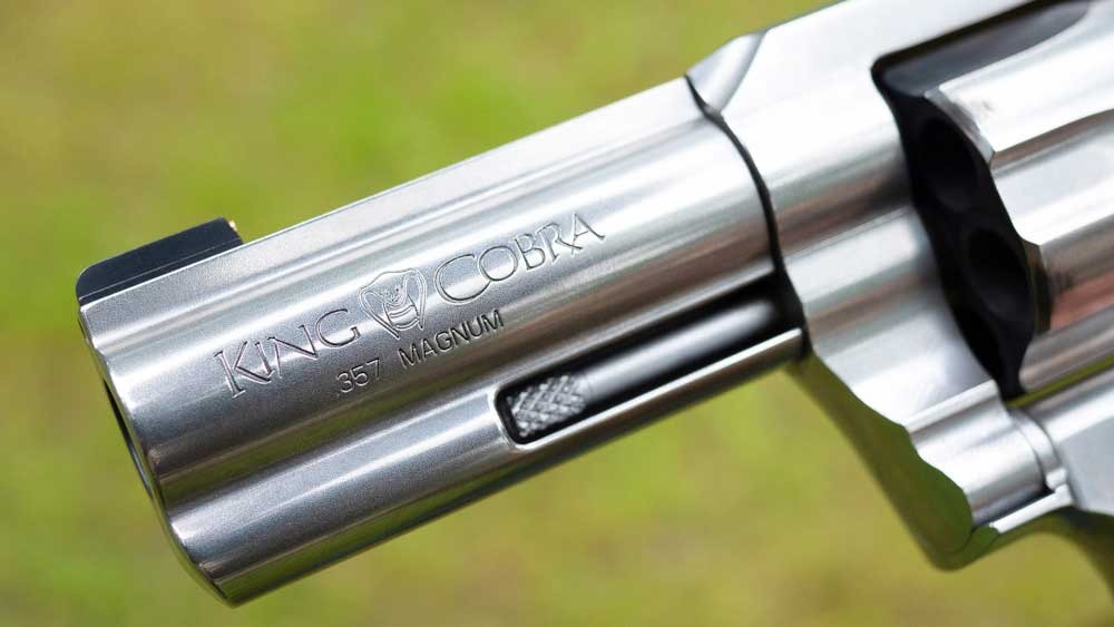 colt king cobra barrel