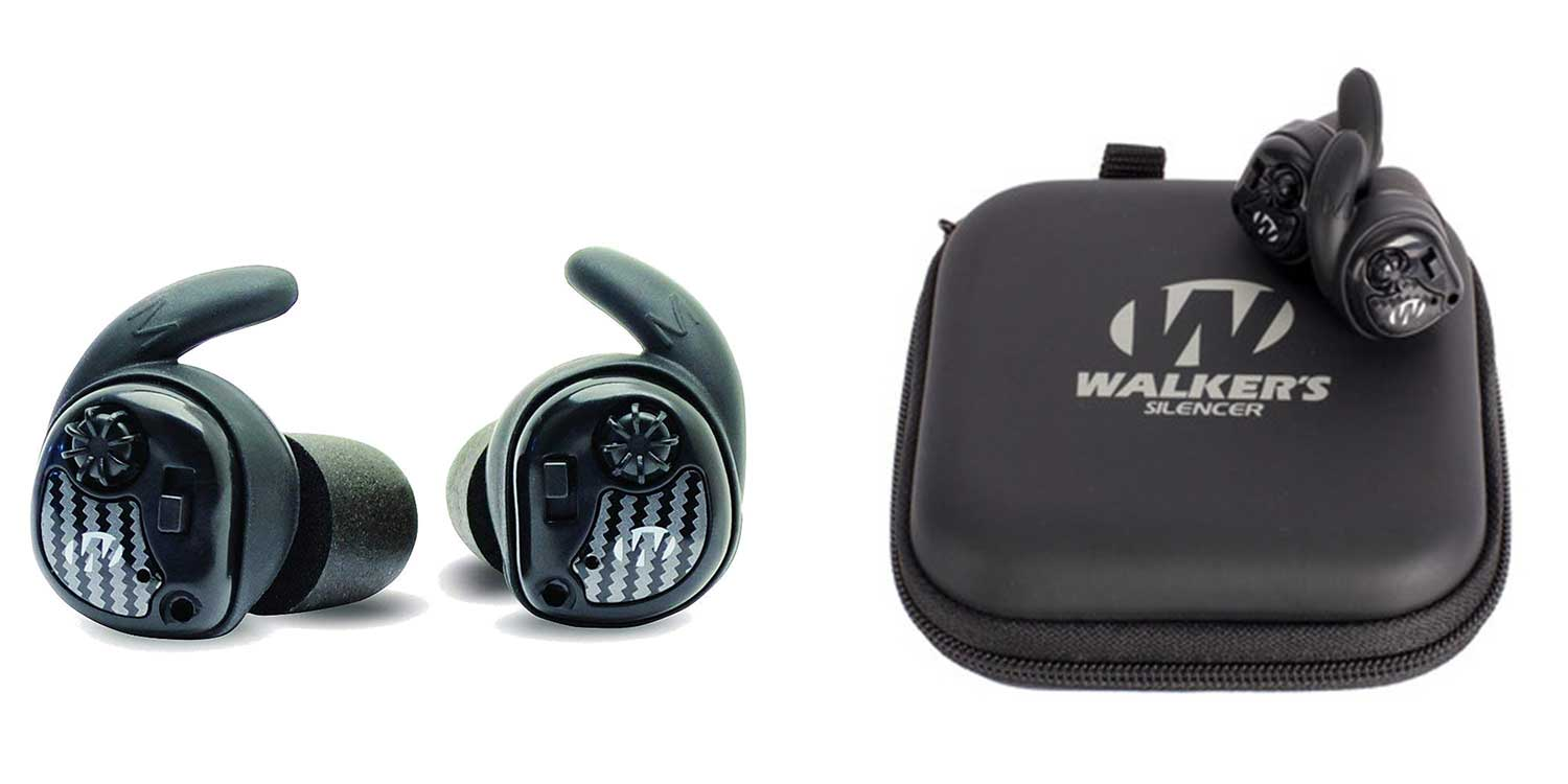 Walker's Silencer earbuds