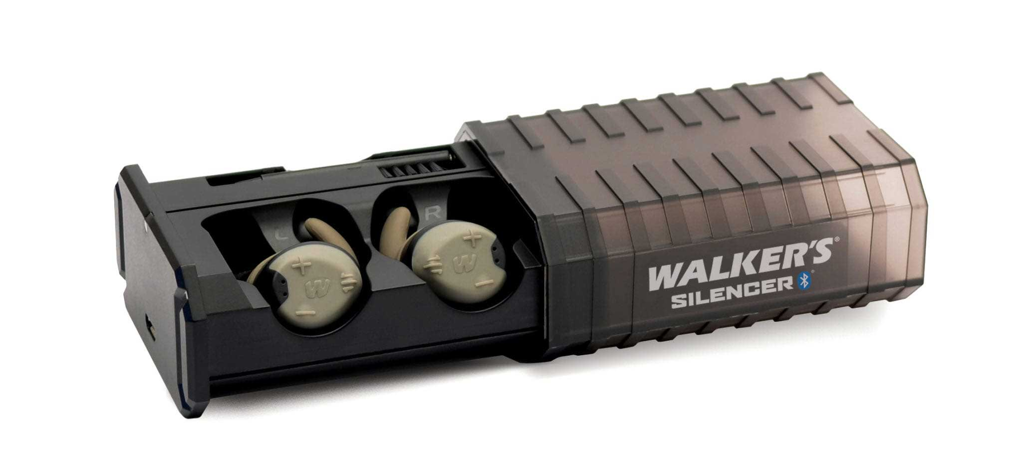 Walker's Silencer earbuds bluetooth