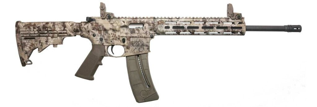 Smith & Wesson M&P15-22 in .22LR