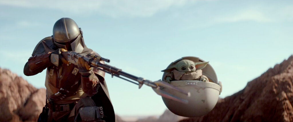guns of the mandalorian star wars